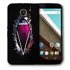 Snoogg Triangle In A Circle 2726 Designer Protective Back Case Cover For Motorola Nexus 6