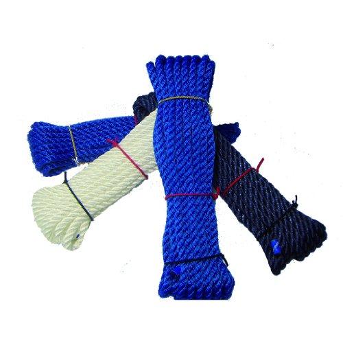 Seilflechter-Tauwerk, Made in Germany Universal Seil Set Birotex gedreht 10 mm, 10 m, 10 STÜCK 10 x 10m = 100m