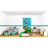 AG Diseño wbd 8069Disney Mickey Mouse, cenefa adhesiva, 0,14x 5m–1rollo, papel, Colorful, 500x 14cm