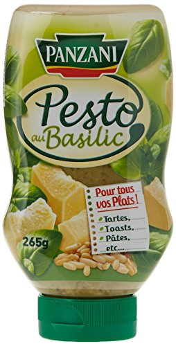 Panzani Pesto Basilic Flacon Souple 265 g - Lot de 5