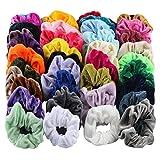Xuthuly Stirnband gewelltes Haarband schrumpfen Haar Seil Damen und Mädchen Haarschmuck samt elastische Haarbänder für Frauen oder Mädchen Haarschmuck