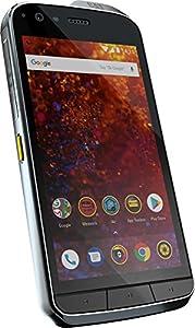 Caterpillar CS61-DAB-ROW-EN Cat S61 Smartphone (13,21 cm (5,2 Zoll) FHD IPS Display, 64 GB interner Speicher und 4 GB RAM, Dual-Sim, IP68 & Mil-Spec 810G Standard, Android 8.0) Schwarz