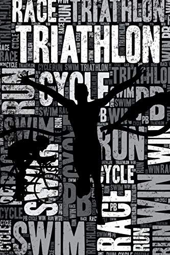 Triathlon Journal: Cool Blank Lined Triathlon Lovers Notebook For Triathlete and Coach
