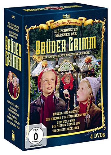 Die schönsten Märchen der Gebrüder Grimm - Box 2 [4 DVDs]