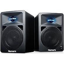Numark N-Wave 360 - Pareja de altavoces monitores amplificados, para DJs