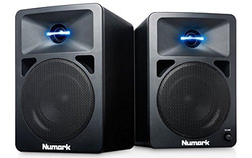 Numark N-Wave 360 - Monitores de DJ de Sobremesa Compactos de Rango...
