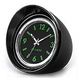 ONEVER Auto Uhr, Auto Air Vent Quarzuhr Mini Fahrzeug Armaturenbrett Uhr, 1,7