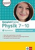 Klett Komplett Trainer Physik Klasse 7 - 10: für Gymnasium