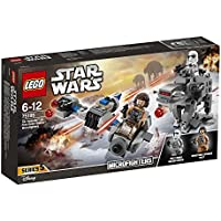 LEGO Star Wars Ski Speeder vs. First Order Walker Microfighters 75195 Star Wars Spielzeug