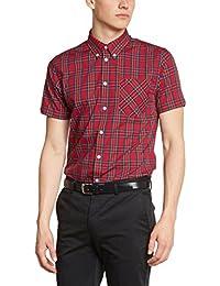 Merc of London Mack, Shirt, Short Sleeve - Camisa Hombre