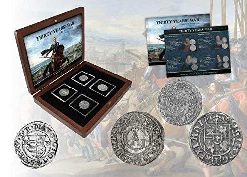 IMPACTO COLECCIONABLES ANTIKE Münzen - 4 Münzen aus dem 30-jährigen Krieg (1618-1648)