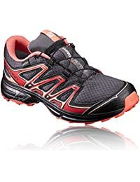 Salomon Damen Wings Flyte 2 GTX W Traillaufschuhe, grau, 43.3 EU