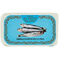 Calle el Tato Petite Sardine à l'Huile d'Olive 20/25 115 g