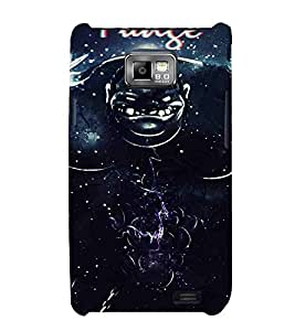 For Samsung Galaxy S2 I9100 :: Samsung I9100 Galaxy S Ii Cartoon, Black, Cartoon and Animation, Printed Designer Back Case Cover By CHAPLOOS