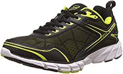 Fila Mens Memory Granted Lime Punch, Black and White Running Shoes -8 UK/India (42 EU)