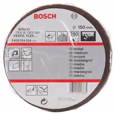 Bosch 3 608 604 024 Disque éponge abrasif Diamètre 150 mm / Grain 280