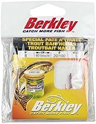 Berkley 1086183 Hameçon de Pêche Mixte Adulte, Métal