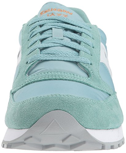 Saucony Jazz S2044 453 Verde Acqua Sneakers Uomo Scarpa Sportiva Casual (41, Blue)