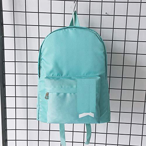 Neue Einfache Oxford Tuch Doppel Rucksack Koreanischen Alphabet Harajuku Wild Große Kapazität Tasche 1 30 * 12 * 40Cm -