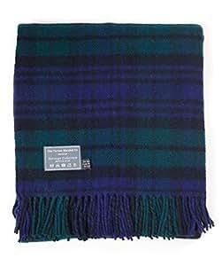 Heritage Black Watch Tartan en laine Couverture pour genoux