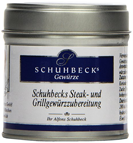 Schuhbecks Steak & Grillgewürzzubereitung 60g