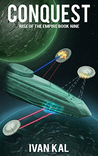 Book cover image for Conquest (Rise of the Empire Book 9)