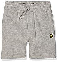 Lyle & Scott Boy's French Terry Sports Shorts, Grey (Vintage Grey Heather), 3-4 Years