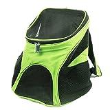 Gaorui Transporttasche für kleine Hunde und Katzen Haustiere Rucksack mit Netzfenster Blau Rot