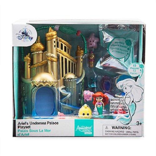 Official Disney Die kleine Meerjungfrau Ariel Micro Spielset (Meerjungfrau Kleinen Flunder Von Der)