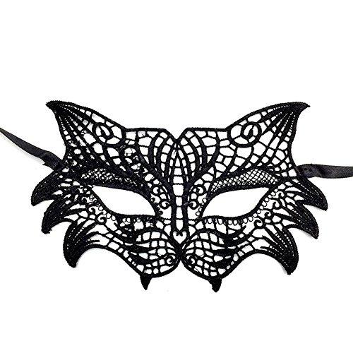 Cdet 1x Tiger Kopf Augenmaske Spitze Hollow Maske Halloween Masken Masquerade Maske Karneval Kostüm Masken Maskentanzabend Party Foto Zubehör (Halloween Maske Website)