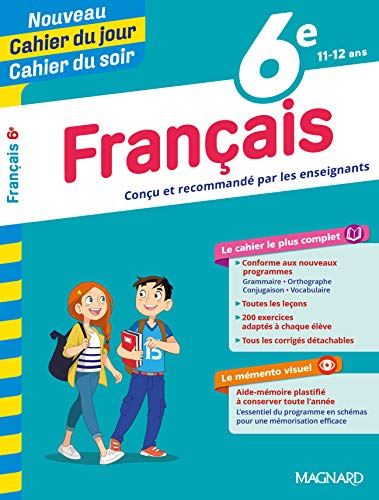 Cahier du jour/Cahier du soir Français 6e