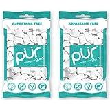 (2 Pack) - Pur Gum - PUR Gum Wintergreen Bag | 80g | 2 PACK BUNDLE