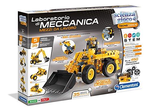 Clementoni 13960 450pieza(s) bloque de construcción de juguete - Bloques de construcción de juguete (Negro, Amarillo, De plástico, 450 pieza(s), Niño, Niño, 8 año(s))