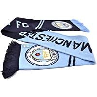 Manchester City FC Official Football Jacquard Scarf