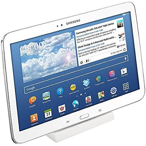 kwmobile Estación de carga micro USB para Samsung Galaxy Tab 3 10.1 P5200 / P5210 / P5220 - Docking station micro USB cable de carga soporte de carga en