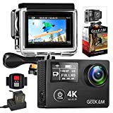 Best Hd Action Cameras - GEEKAM Action Camera 4K/30fps Double Screen WiFi Underwater Review