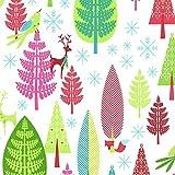 Michael Miller Weihnachtsstoff, Trim The Trees, 1 x