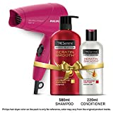#7: TRESemme Keratin Smooth Shampoo 580ml & Conditioner 220ml Combo Pack + Philips Hair Dryer