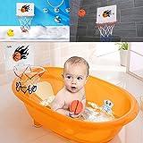 Milkee Innenminibasketballkorb beim Büro Zimmer Mini Basketball Brett Kinder Freizeit Sport mit Ball und Pumpe - 7