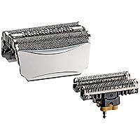 8000 360 komplette folie / 51er cutter block kompatibel für braun - modelle 8995, 8985, 8975