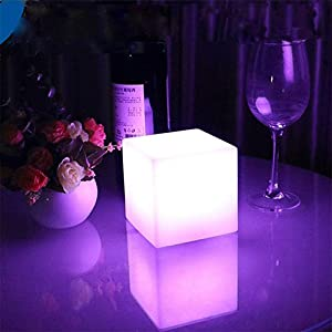 LED Luce Notturna , cambio di colore Patio galleggiante LED Illuminazione a sfera, illuminazione notturna ricaricabile per la decorazione interna e esterna