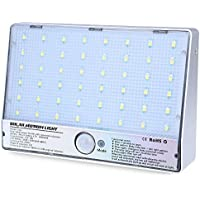 48 LEDs Luz de sensor de movimiento accionado solar para la calle exterior solar