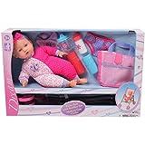 "Gi-Go 14"" Baby Doll with Stroller Set"
