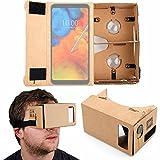 DURAGADGET Gafas de Realidad Virtual VR para Smarphones ASUS ROG Phone, Motorola Moto Z3 Play, LG Q...