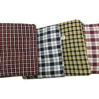 Shri Anand Creations Cotton 120 TC Mattress Cover (Standard_Multicolour)