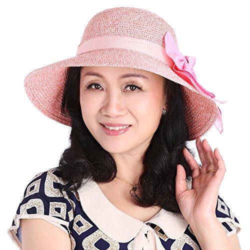 Vieux chapeaux/Chapeaux de soleil SPF/Chapeaux de dames de l'été A