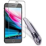 2 x iPhone 8 Film Protection Ecran en Verre Trempé, Melojoy Protection écran en Verre Trempé pour iPhone 8