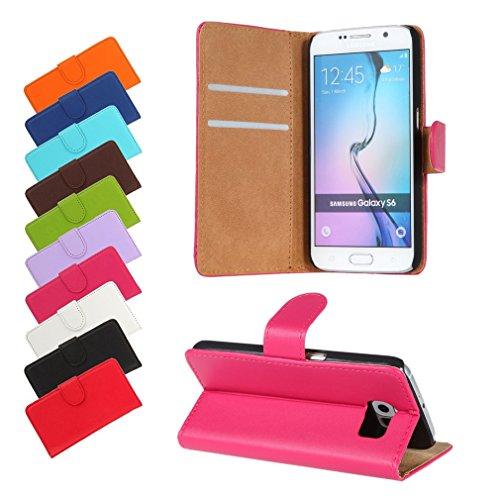 BRALEXX Huawei P9 Lite 2016 / P9 Lite 2016 Dual SIM Bookstyle-Tasche Hülle Case Schutz PINK (zum Aufstellen, 2x Kartenfach, 1x Geldfach, Silikon-Rundumschutz-Innenschale)