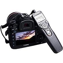 Viltrox Mando a distancia de disparo del obturador automático Temporizador Alambre con C3 cable para cámaras Réflex Canon EOS 1DX 5DS 5DS 5DMark III 6D 7D II 7D 5D Mark II 5DIII 5DII 10D 20D 30D 40D 50D