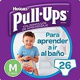 Huggies Pull-Ups - Calzoncillos de aprendizaje para niños, talla M (11-18 kg), 26 calzoncillos, Pack de 2